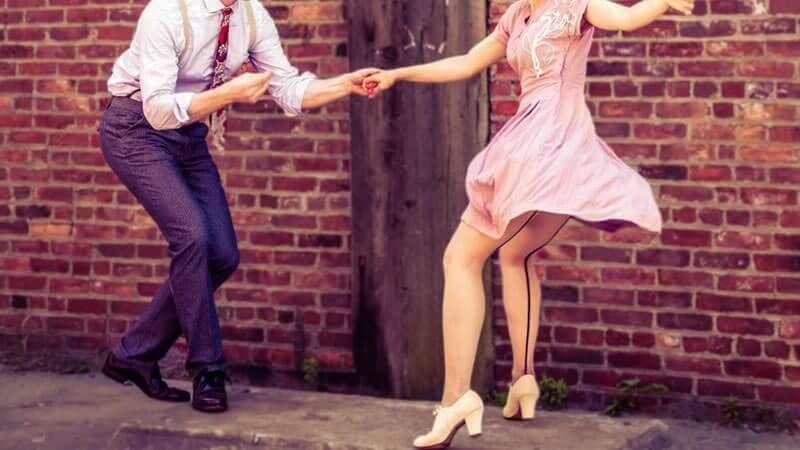 La síncopa de los bailes swing