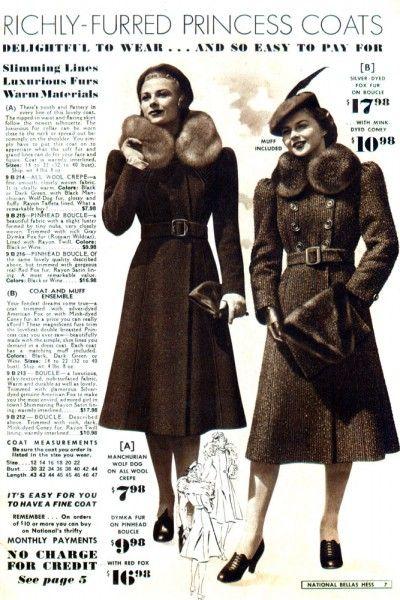 abrigos lindy hop mujer 30s 8