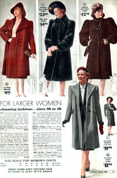abrigos lindy hop mujer 30s 9