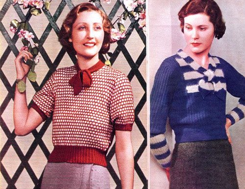 blusas lindy hop mujer 30s 3
