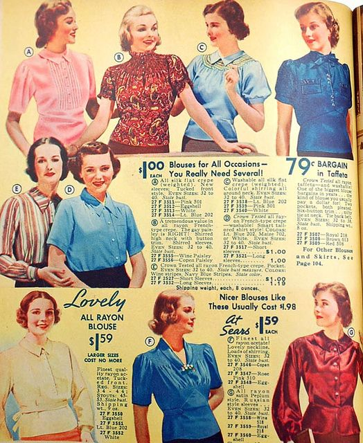 blusas lindy hop mujer 30s 4