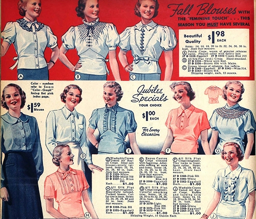 blusas lindy hop mujer 30s 6