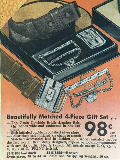 conjunto accesorios 1937