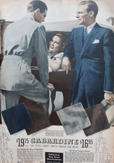 gabardina 1937