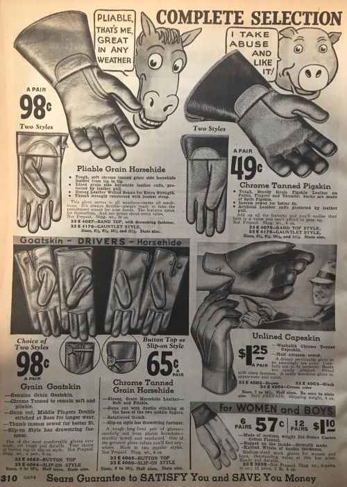 guantes 1937
