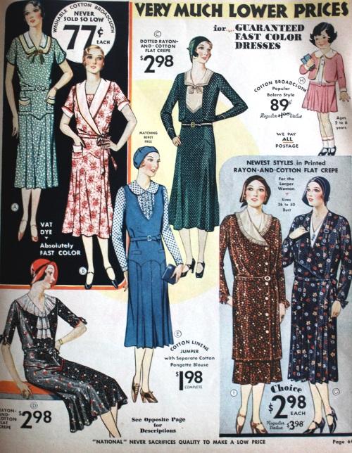 moda de 1931