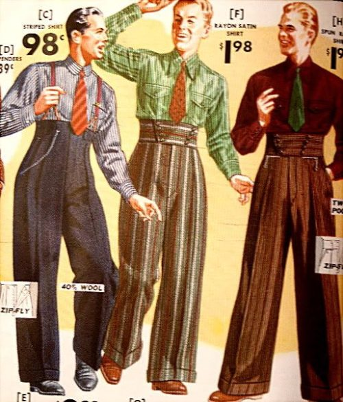 pantalones estilo Hollywood