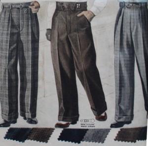 pantalones ropa lindy hop hombre 30s 1