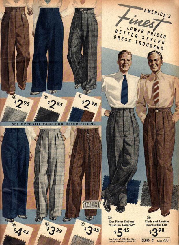 pantalones ropa lindy hop hombre 30s 3