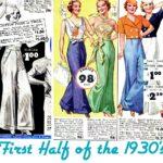 pantalones y faldas lindy hopmujer 30s 2