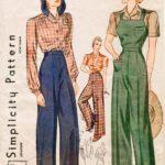 pantalones y faldas lindy hopmujer 30s 8