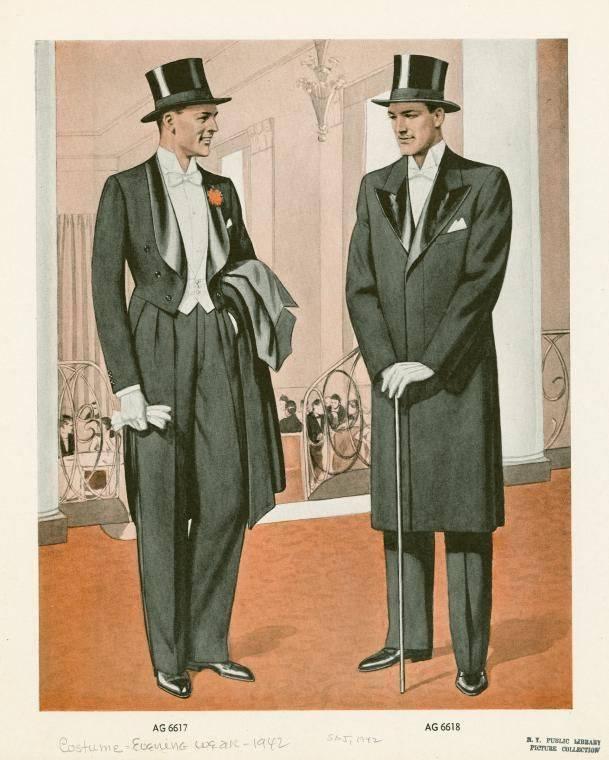 traje formal w/chistera