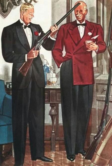 trajes formales de hombre