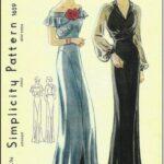 vestido noche mujer ropa lindy hop 30s 7