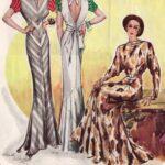 vestidos de tarde