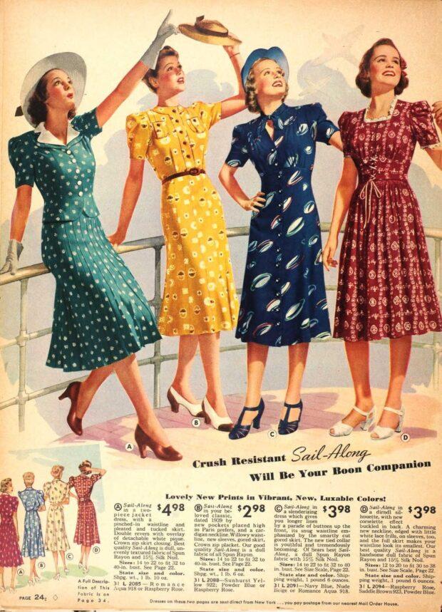 vestidos lindy hop mujer 30s 3