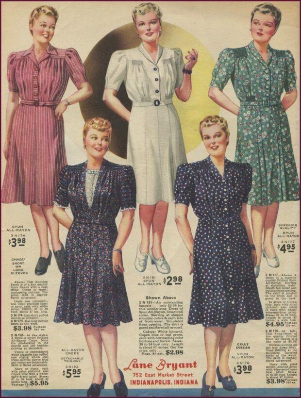 vestidos lindy hop mujer 30s 4