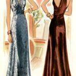 vestidos sin espalda