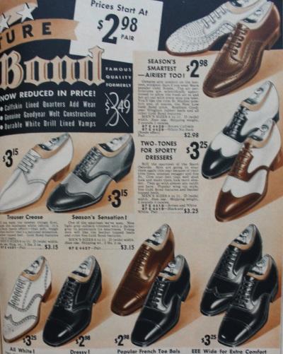 zapatos de hombre 1937