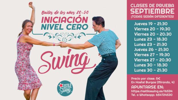 iniciacion baile swing burgos fechas