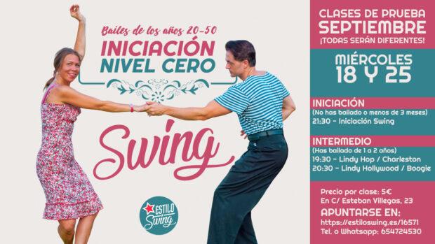 iniciacion baile swing logrono fechas