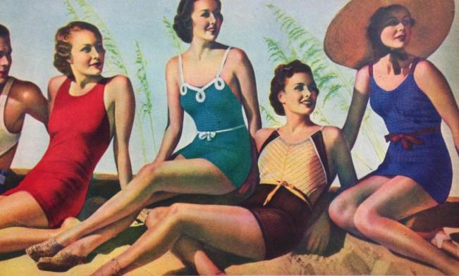 trajes de bano de 1934