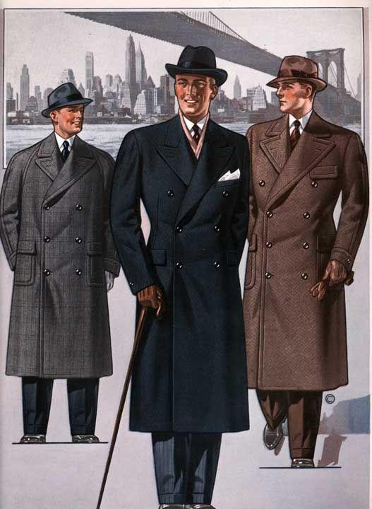 abrigos ropa lindy hop hombre 30s 1
