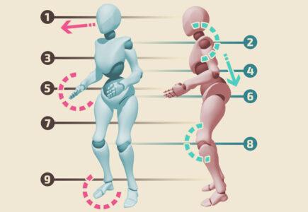 postura diagrama