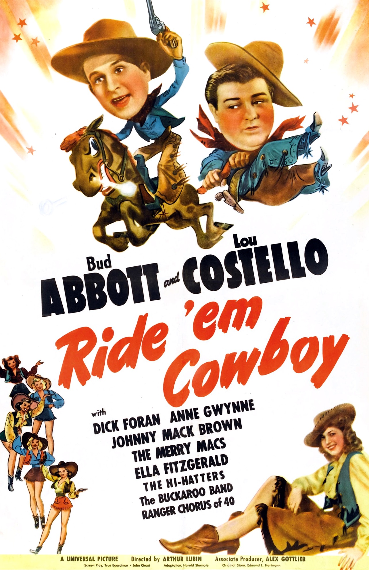 RIDE EM COWBOY 1942