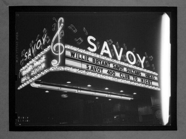 1937 Savoy Ballroom Marquesina