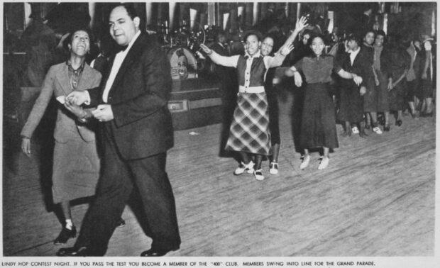 The track, la pista del Savoy Ballroom