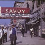 Marquesina del Savoy Ballroom
