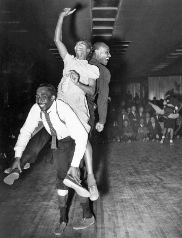 1941 The Whitey's Lindy Hoppers con Frankie Manning