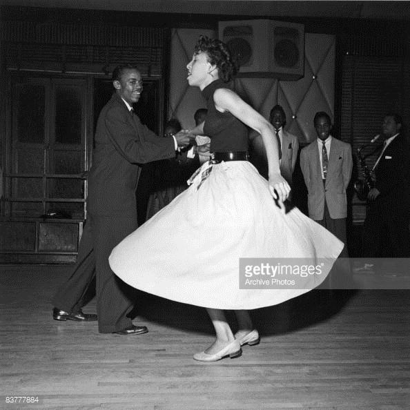 1947 Revellers en el Savoy Ballroom en Harlem New York