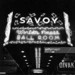 1947 Savoy Ballroom inferior marquesina