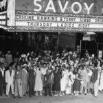 1952 multitud en el Savoy Ballroom