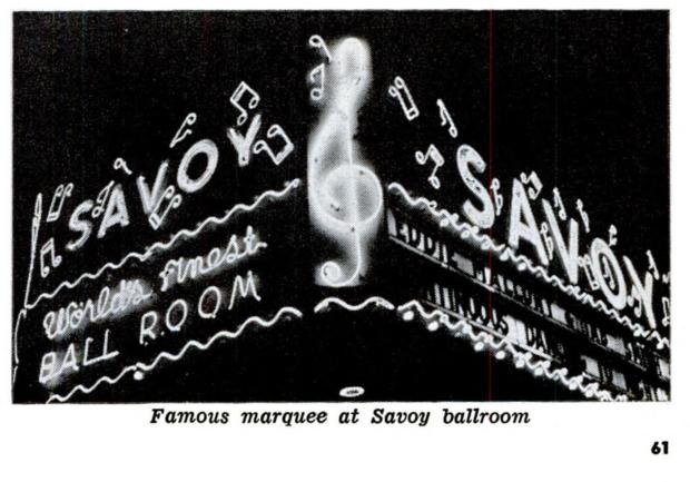 1953 Savoy Ballroom