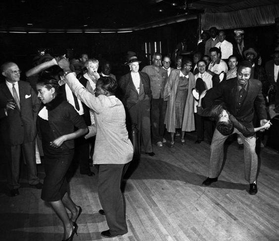1958 Baile en el Savoy Ballroom