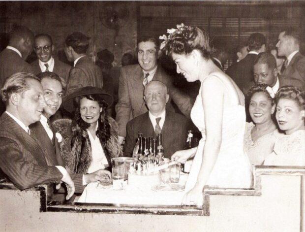 Moe Gale and Charles Buchanan propietarios del Savoy Ballroom