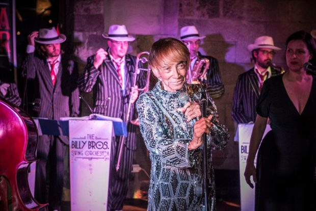 Norma Miller y Billy Bros Orchestra