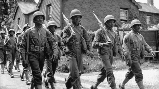 soldados negros