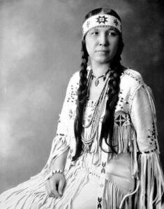 Mujer Cherokee