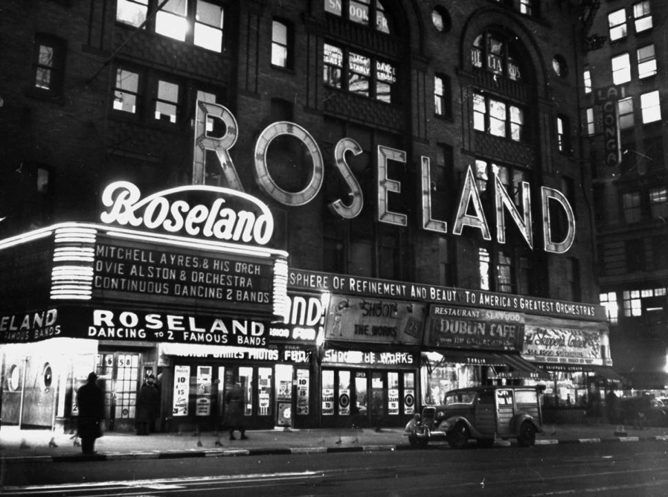 roseland ballroom 1930s