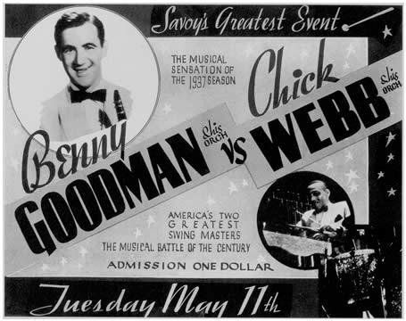 Chick Webb contra Benny Goodman