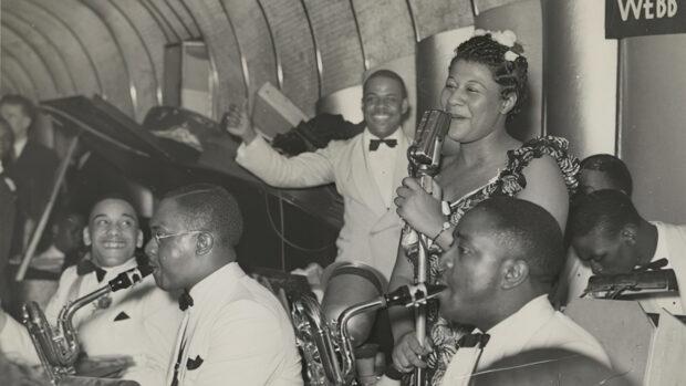 Ella Fitzgerald y Chick Webb