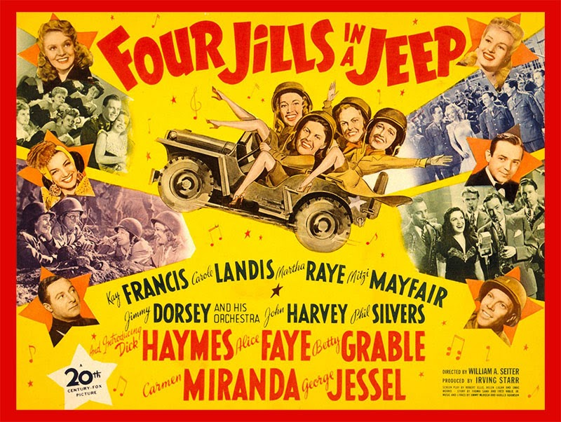 Four Jills and a Jeep